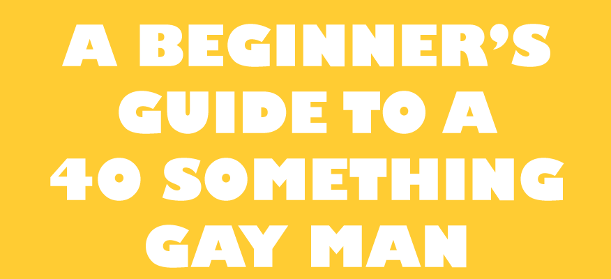40 Something Gay Man logo